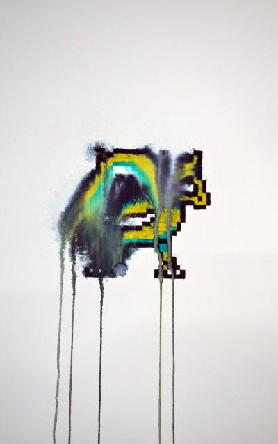 """Clôde Coulpier - """"Pixels tristes"""""""